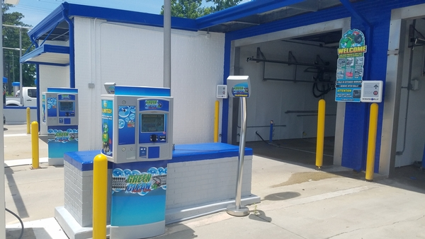 Mainside Car Wash Touch-less Pay Station